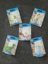 """New listing Disney Pixar Toy Story 2 1/2"""" Micro Collection Figurines - Lot of 5"""