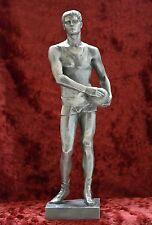 USSR Russian Soviet propaganda sport Volleyball Player sculpture statue H=32 cm.