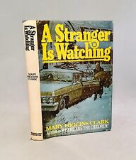 A Stranger Is Watching-Mary Higgins Clark-SIGNED!-First/1st BCE-1977-VERY RARE!