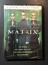 4 Film Favourites The Matrix Collection R1 DVD Reloaded Revolutions