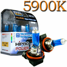 H11 Super White 55W 5900K HID Xenon Halogen Headlight Bulbs For Low Beam