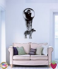 Wall Sticker Zebra African Animal Coolest Decor for Your Place z1364