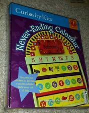 Curiosity Kits: Never-Ending Calendar BRAND NEW! (Kids Arts & Crafts) 2001 toys