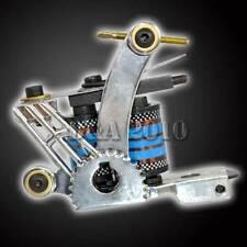 Pro 8 Wrap Coils Powerful Handmade Tattoo Machine Gun Spring Shader Cast Iron