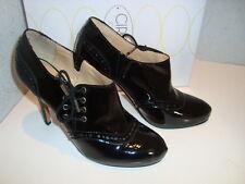 Circa Joan & David NWB Womens Jeunice Black Patent Boots Shoes 6 Medium