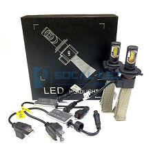 Fanless LED Headlight Kit H4 6000K Xenon White Canbus Conversion Hi/Lo H/L Bulbs