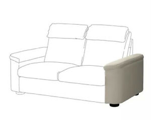 IKEA Lidhult Armrest Arm-Rest Cover 204.059.24, Gassebol Light Beige