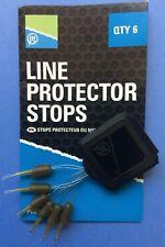 PRESTON INNOVATIONS FISHING - LINE PROTECTOR STOPS -  6 PER PACK