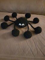 Crochet animal pattern amigurumi cuddly soft toy Brenda the Spider