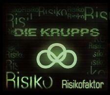 DIE KRUPPS - RISIKOFAKTOR  CD SINGLE  3 TRACKS  POP/ELECTRO  NEU