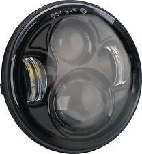 "5 3/4 (5.75"") Black LED Daymaker Headlight Harley Davidson Sportster Dyna A-045"