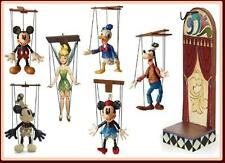 Jim Shore Marionette Mickey Minnie Donald Goofy Tinkerbell Disney Traditions 7 P