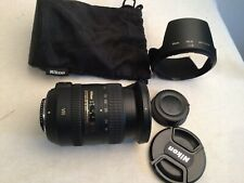 Nikon NIKKOR 18-200mm f/3.5-5.6 AF-S VR II DX ED Lens + hb-35 hood