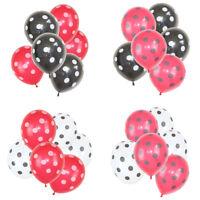 32 PCS Ladybug Polka Dot Latex Balloons Home Party Balloons Wedding Decorations
