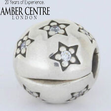 Genuine Pandora Silver Clip - Star Pave with Cubic Zirconia - 791058CZ RRP£45!!!