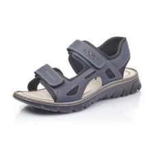 Rieker 26761-14 Mens Navy Hook And Loop Fastening Walking Sandal