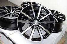 """18"""" Effect Wheels Black 5x120 Fit BMW 128 135 318 323 325 328 330 335 Odyssey"""