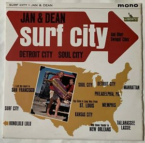 Jan & Dean - Liberty LP - LBY1163 - Surf City and other swingin' cities