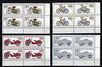 Bund 1168 - 1171 VB Eckrand Viererblock postfrisch alle m.Formnummer FN Ecke 4