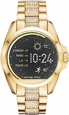 Michael Kors Unisex Digital Bracelet Gold Access Bradshaw Smart Watch MKT5002