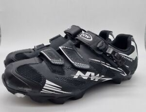 Northwave Scorpius SRS Uk size 9.5  Cycling Shoes black/white US 10.5 EUR43