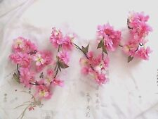 10 ROSE PINK CHERRY BLOSSOM 1.84M ARTIFICIAL FLOWER GARLAND 6 FT BUNTING WEDDING