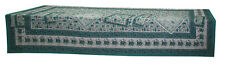 Block Print Table Cloth, Table Cover 340 cm x 167 cm With 12pc Napkin Tablecloth