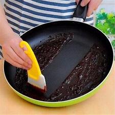 Pan Cleaning Silicone Scraper Kitchen Spatula Cake Baking Pot Washing Brush Tool