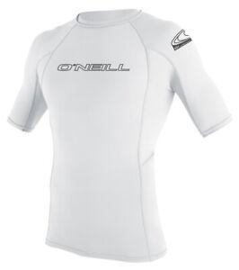 O'Neill Rash Guard Basic Skins S/S Crew UV Schutz Badeshirt Schwimmshirt Shirt