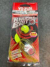Yo Zuri 3DB Knuckle Spinnerbait Fishing Lure 5/0 Hook 1/2 Oz Chartreuse R1302 CL