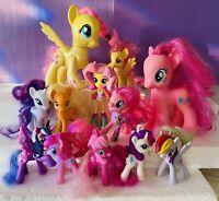 Hasbro My Little Pony Lot Of Ponies MLP Fluttershy Pegasus Pinkie Pie G4