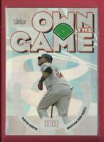 David Ortiz 2006 Topps Own The Game Insert Card # OG12 Boston Red Sox Baseball