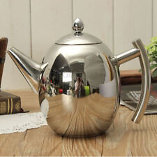 1500ML Stainless Steel Teapot Coffee Pot Olive Pot Cold Kettle Strainer Kitchen