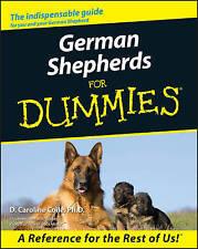 German Shepherds for Dummies by D. Caroline Coile (Paperback, 2000)