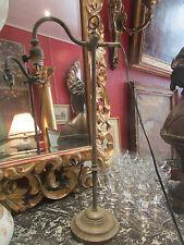 ancienne lampe de bureau industrielle epoque 1900 54,5 cm