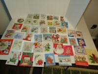 Lot of 46 Christmas Greeting Cards-1940's Lot #4