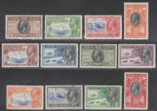 Cayman Islands 1935 King George V Set Mint SG96-107 cat £200