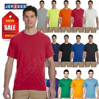NEW Jerzees Men's Sport 100% Polyester Work out Gym S-XL T-SHIRT R-21M