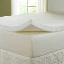 100% MEMORY FOAM MATTRESS TOPPER DOUBLE MATRES FOAM TOPPER 2.5 WITH COVER