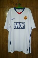 Manchester United Nike Football Shirt Away 2008/2009 Soccer Jersey Size 2XL XXL