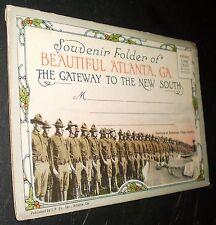 "Atlanta ""Gateway to the New South"" Fold-Out Postcard–Georgia (circa early 1900s)"