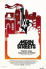 24X36Inch Art MEAN STREETS Movie Poster 1973 Martin Scorsese Robert De Niro P01