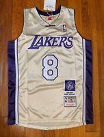 Kobe Bryant #8 #24 Los Angeles Lakers Hall of Fame 2020 Jersey HOF XL