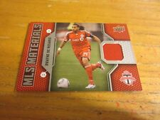 Dwayne De Rosario 2011 Upper Deck MLS Materials #DD Relic Card Soccer DC United