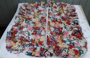 VINTAGE THOUSAND FLOWERS PILLOW SHAMS by RALPH LAUREN-2 Standard & 3  EUROS