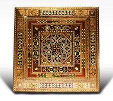 Bois Mosaic boîte  coffret à bijoux, artisanat Damaskunst K 2-2-44