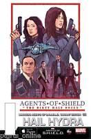 Hail Hydra #1 JAKE WYATT 1:15 Marvel Agents Of Shield Variant Cover