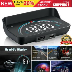 Universal Car GPS Head Up Display HUD Projector w/ Digital Speedo Warning Alarm