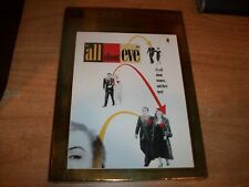 All About Eve (Dvd, 2003, Award Series Studio Classics) Drama New