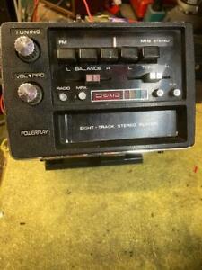 CRAIG 8 TRACK FM FLOOR MOUNT.